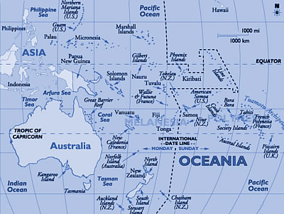 Oceania, World Casinos